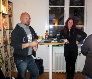 Renzo Aneröd och Hanna Jörgensen