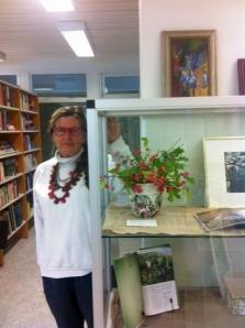 Ilva Vallström på Bua bibliotek